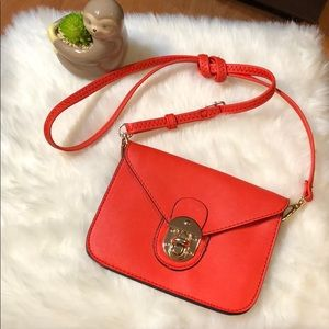 Handbags - Red Envelope Crossbody Purse 7 x 5